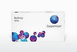 Contact Lenses Cooper Vision Biofinity toric BFNTR6