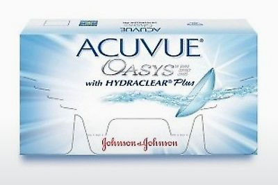 Lentilles de contact Johnson & Johnson ACUVUE OASYS with HYDRACLEAR Plus PH-6P-REV