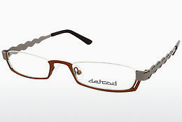 Lunettes design Detroit UN454 02 - Brunes, Copper