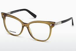 Lunettes design Dsquared DQ5214 045 - Brunes, Bright, Shiny