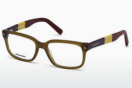 Lunettes design Dsquared DQ5216 046 - Brunes, Bright, Matt