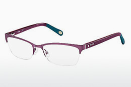 Lunettes design Fossil FOS 6017 NDW - Rose, Pourpre