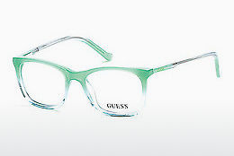 Lunettes design Guess GU9164 093 - Vertes, Bright, Shiny
