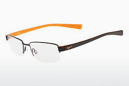 Lunettes design Nike NIKE 8160 070 - Grises, Orange