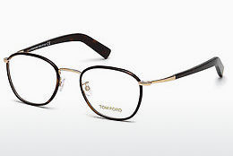 Lunettes design Tom Ford FT5333 056 - Brunes, Havanna