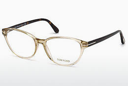 Lunettes design Tom Ford FT5422 057 - Corne, Shiny