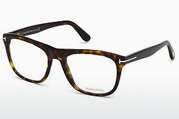 Lunettes design Tom Ford FT5480 052 - Brunes, Havanna