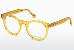 Lunettes design Tom Ford FT5489 041 - Jaunes