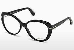 Lunettes design Tom Ford FT5492 001 - Noires, Shiny