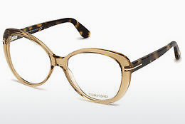 Lunettes design Tom Ford FT5492 045 - Brunes, Bright, Shiny