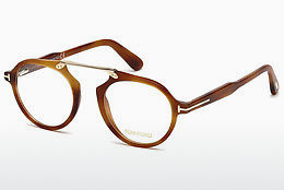 Lunettes design Tom Ford FT5494 053 - Jaunes, Brunes, Havanna
