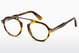 Lunettes design Tom Ford FT5494 055 - Multicolores, Brunes, Havanna