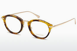 Lunettes design Tom Ford FT5497 055 - Multicolores, Brunes, Havanna