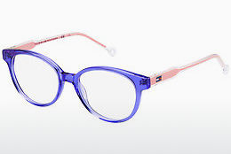 Lunettes design Tommy Hilfiger TH 1428 Y58 - Bleues, Orange