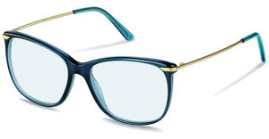 Claudia Schiffer C4007 A transparent navy, gold