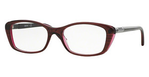 DKNY DY4661 3655 RED ON RED TRANSP