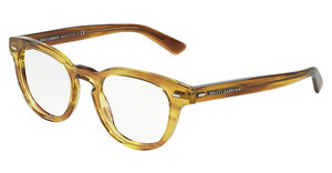 Dolce & Gabbana DG3225 2927 STRIPED HONEY