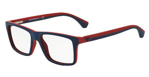 Emporio Armani EA3034 5325 BLUE/RED RUBBER
