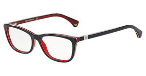 Emporio Armani EA3052 5352 BLUE/WHITE LINE/RED