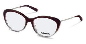 Jil Sander J4001 D Dark Red Gradient