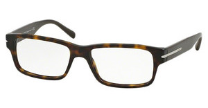 Prada PR 22RV HAQ1O1 MATTE BROWN