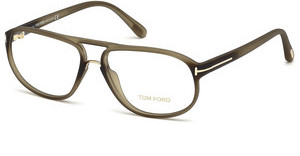 Tom Ford FT5296 046 braun hell matt