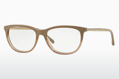 Lunettes design Burberry BE2189 3516 - Brunes, Beige