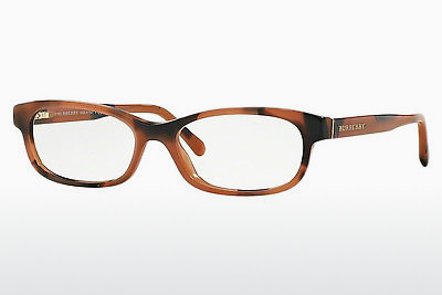 Lunettes design Burberry BE2202 3518 - Brunes, Amber