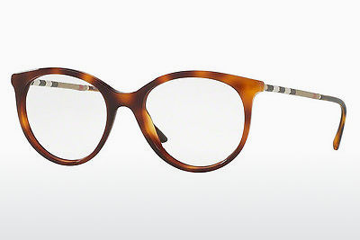 Lunettes design Burberry BE2244Q 3316 - Brunes, Havanna