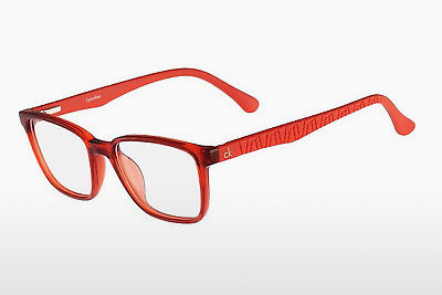 Lunettes design Calvin Klein CK5857 810 - Orange