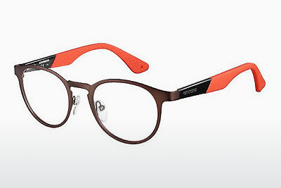 Lunettes design Carrera CA5531 HAD - Brunes, Noires, Orange