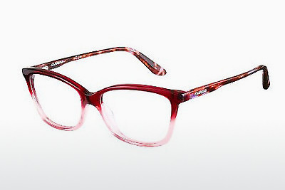 Lunettes design Carrera CA6639 TJX - Rouges, Brunes, Havanna
