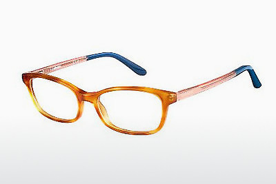 Lunettes design Carrera CA6647 QKX - Orange, Brunes, Havanna