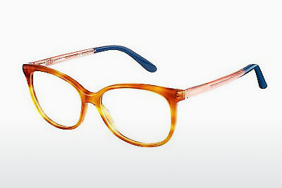 Lunettes design Carrera CA6648 QKX - Havanna, Orange