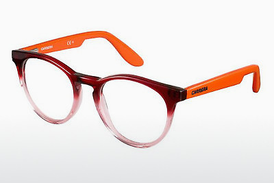 Lunettes design Carrera CARRERINO 58 W9H - Rouges, Orange