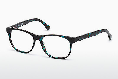 Lunettes design Diesel DL5198 055 - Multicolores, Brunes, Havanna