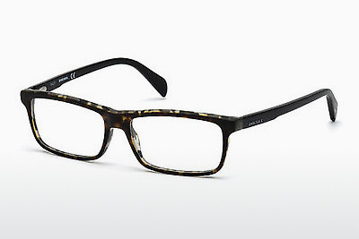 Lunettes design Diesel DL5203 055 - Multicolores, Brunes, Havanna