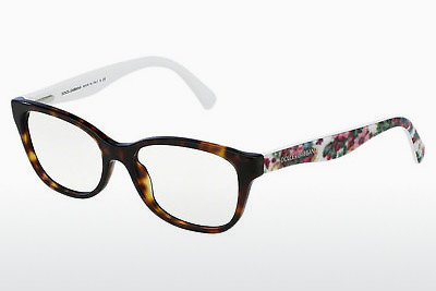 Eyewear Dolce & Gabbana MATT SILK (DG3136 2783) - Brown, Havanna