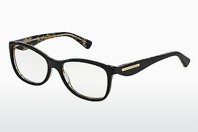 Eyewear Dolce & Gabbana GOLD LEAF (DG3174 2744) - Black, Flowers, Gold