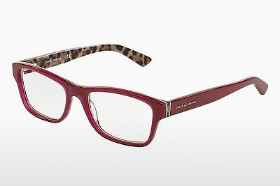 Lunettes design Dolce & Gabbana Enchanted Beauties (DG3208 2882) - Rouges, Bordeaux