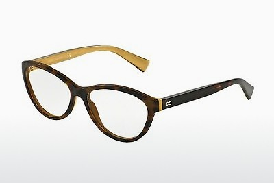 Eyewear Dolce & Gabbana DG3232 2956 - Brown, Havanna, Gold