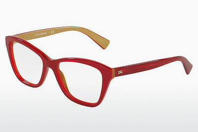 Eyewear Dolce & Gabbana DG3249 2968 - Red, Gold
