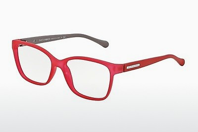 Lunettes design Dolce & Gabbana OVER-MOLDED RUBBER (DG5008 2818) - Rouges