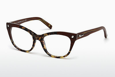 Eyewear Dsquared DQ5160 055 - Brown, Havanna, Multi-coloured
