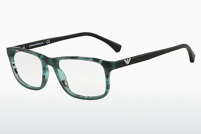 Eyewear Emporio Armani EA3098 5550 - Brown, Havanna, Green