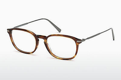 Eyewear Ermenegildo Zegna EZ5051 047 - Brown, Bright