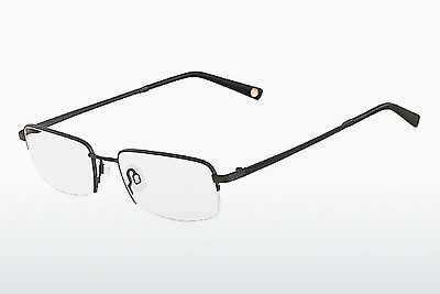 Lunettes design Flexon MOVEMENT 001 - Noires, Chrome