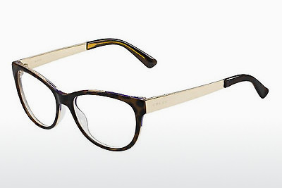 Lunettes design Gucci GG 3742 2EZ - Flowers, Brunes, Havanna, Or
