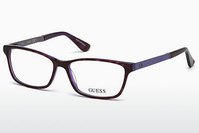 Lunettes design Guess GU2628 055 - Multicolores, Brunes, Havanna