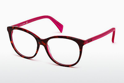 Lunettes design Just Cavalli JC0617 055 - Brunes, Havanna, Multicolores